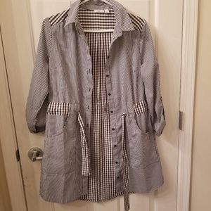 Checkered Pattern Outer Layer